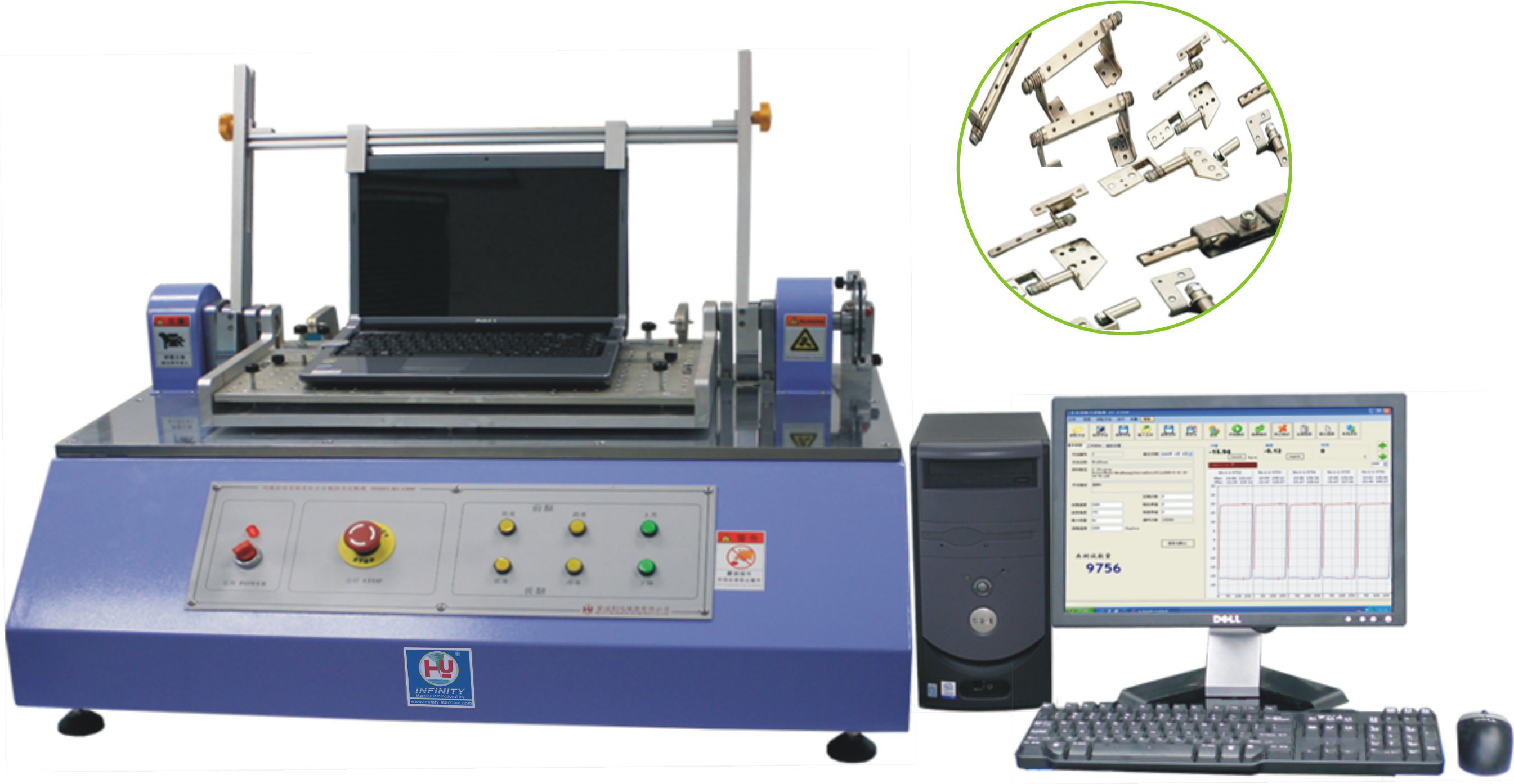 Automatic Digital Torsion Testing Machine High Precise for LCD Monitor