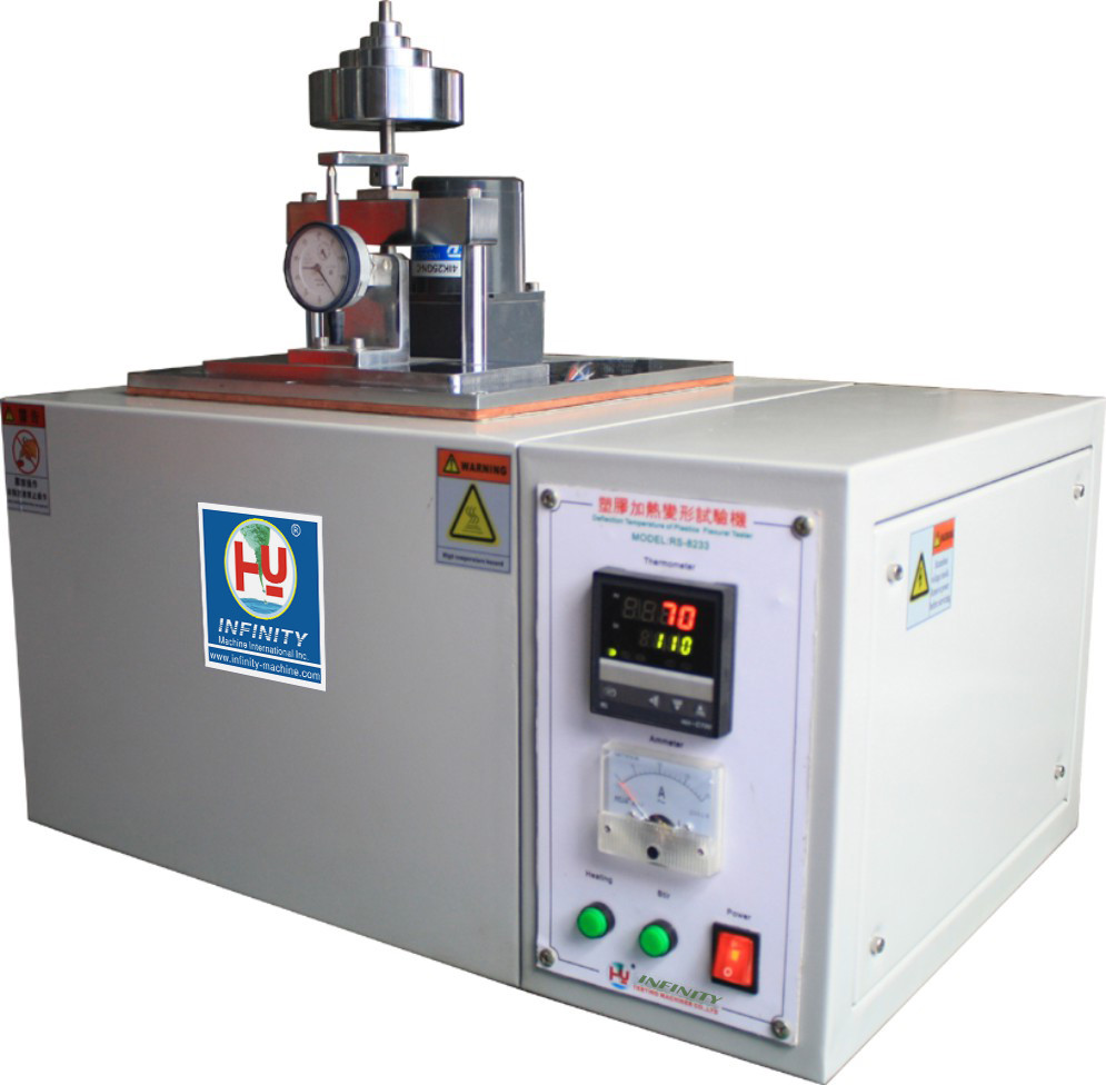 ASTM D648 Plastic Testing Machines Heating Deformation Resistance Test