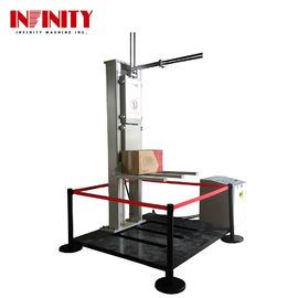 Duży sprzęt AGD Drop Impact Test Machine Zero Height Paper Package Free Fall Drop Tester
